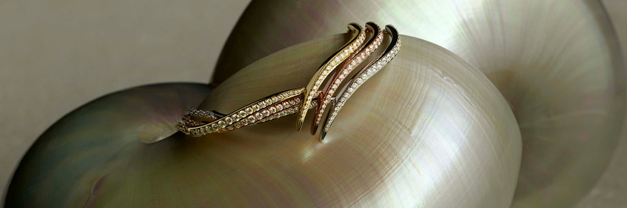Entwined bangles