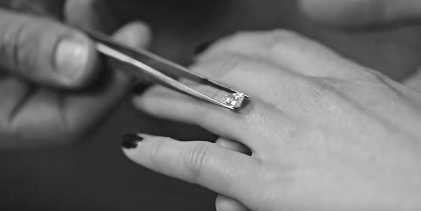 The Making Of A  Bespoke Engagement Ring