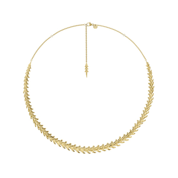 Serpent Trace Yellow Gold Vermeil Choker