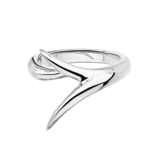 18ct White Gold Interlock Me Promise Ring