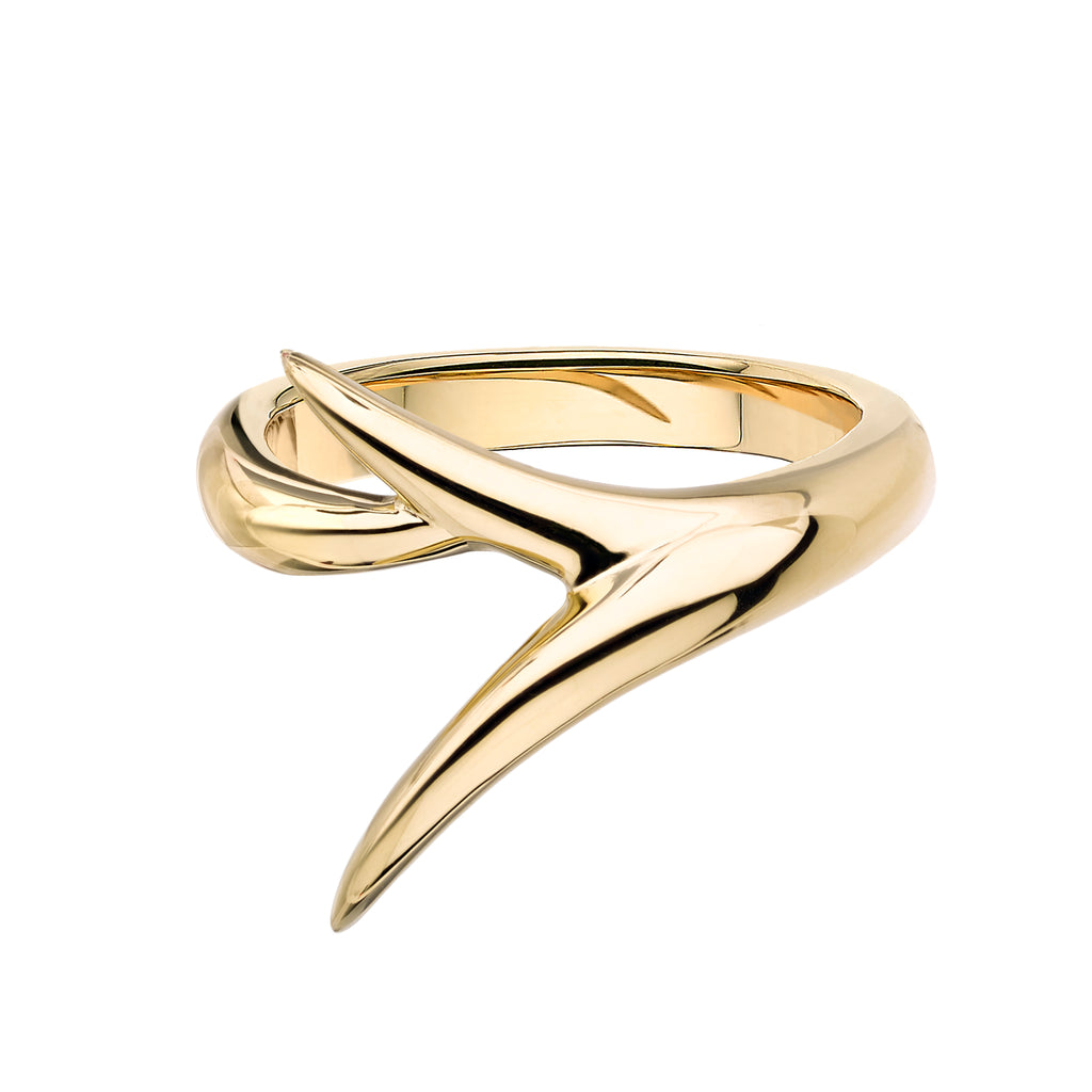 18ct Yellow Gold Interlock Me Promise Ring