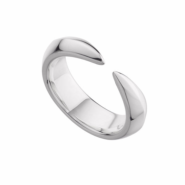 Silver Arc Ring