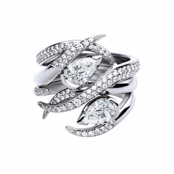 White Gold and Diamond 0.50ct Ariana Eternity Ring Set