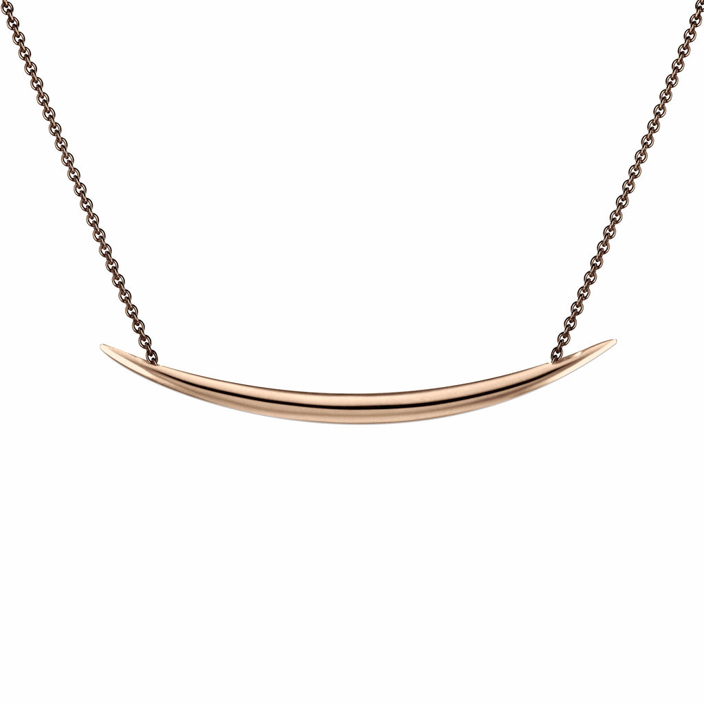Rose Gold Vermeil Quill Necklace