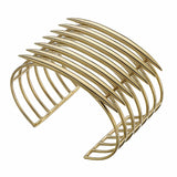 Silver and Gold Vermeil Quill Cuff