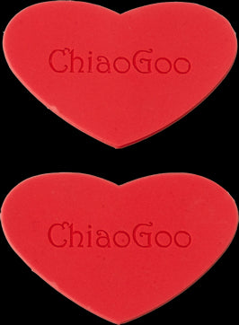 chiaogoo heart rubber gripper