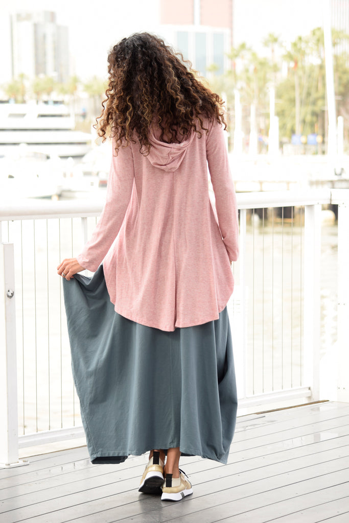 Maxi Skirt Backview