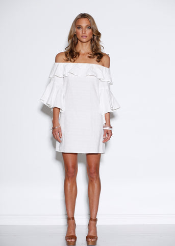 MINISTRY OF STYLE WONDER OFF THE SHOULDER DRESS
