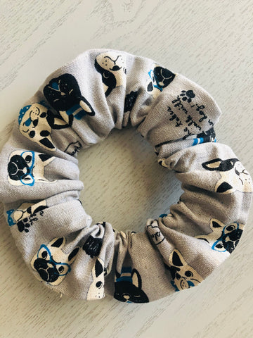 PUPPY SCRUNCHIE