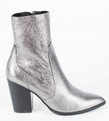 HAEL & JAX PIXIE PEWTER CRUSH BOOTS