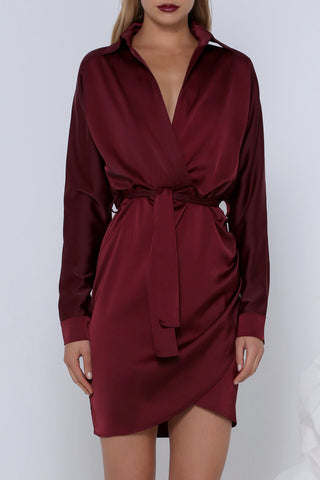 PREMONITION PINOT SHIRT DRESS