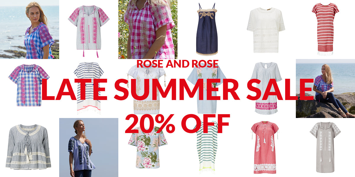 Late Summer Sale - Get 20% Off