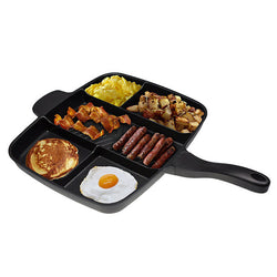 Non-Stick Divided 5 in 1 Fry Pan