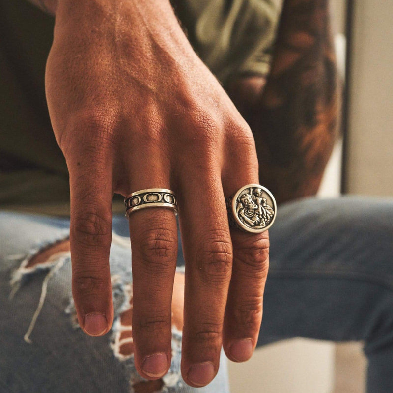 CRAFTD Band x Christopher Ring Set (Silver)