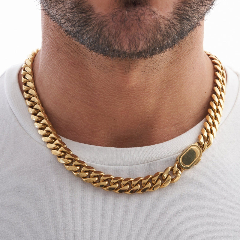 Cuban (Gold) 12mm