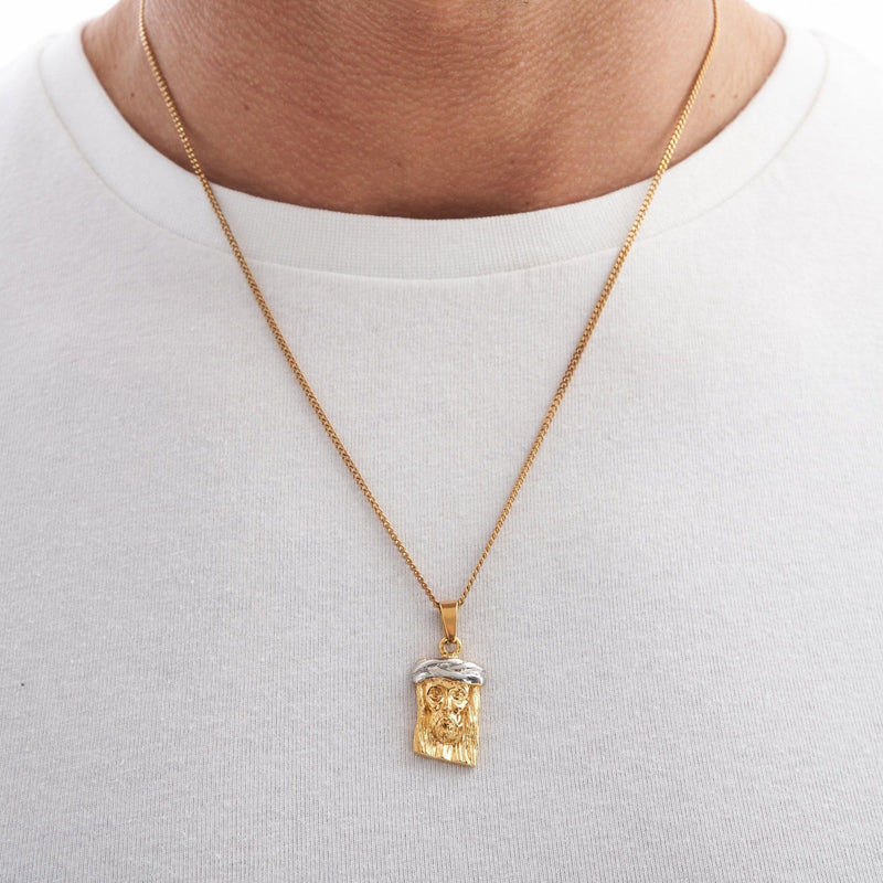 Jesus Piece (Gold)