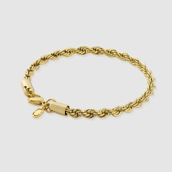 Rope Bracelet (Gold) 5mm