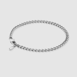 Cuban Bracelet (Silver) 4mm