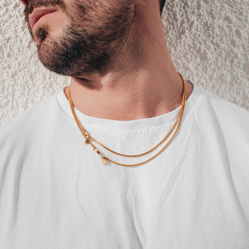 Snake Chain (Gold) 2mm