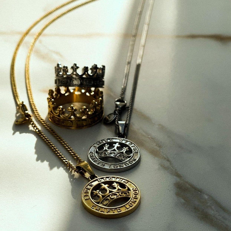 Crown Pendant (Gold)