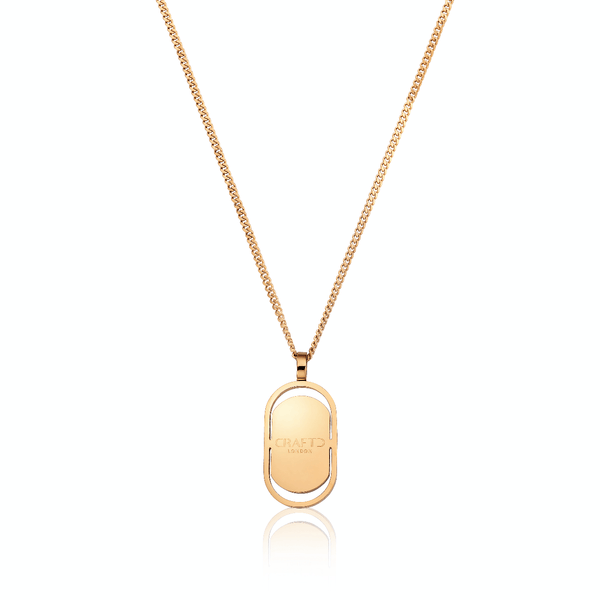 CRAFTD Signature Pendant (Gold)