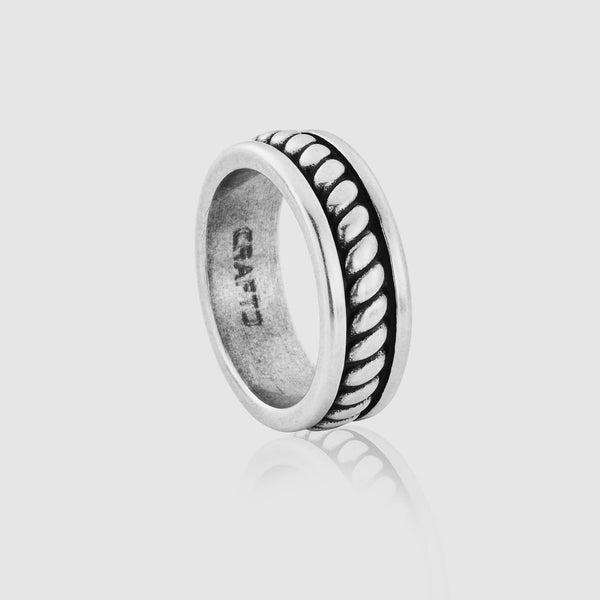 Rope Ring (Silver)