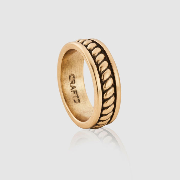 Rope Ring (Gold)