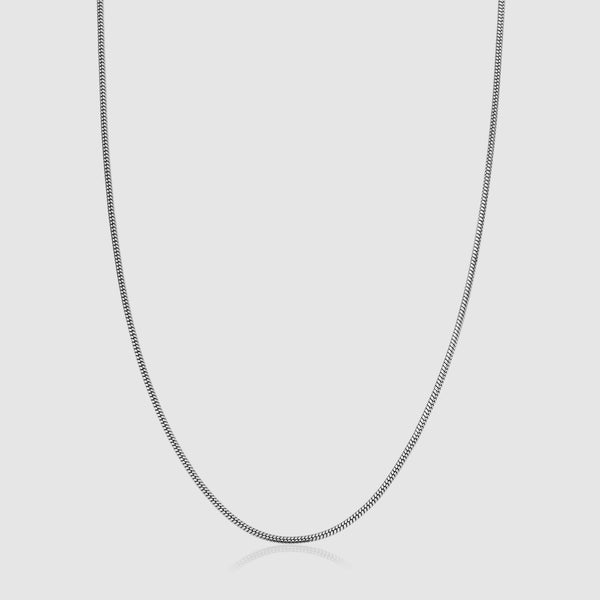 Snake Chain (Silver) 2mm