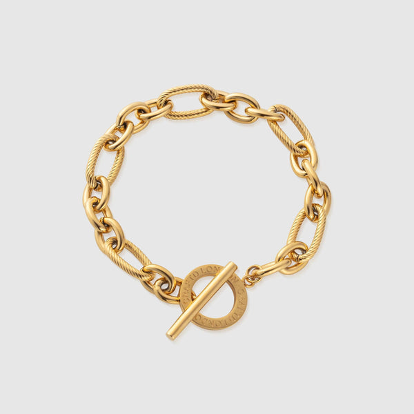 Toggle Milan Bracelet (Gold)