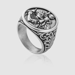 St. Christopher Ring (Silver)