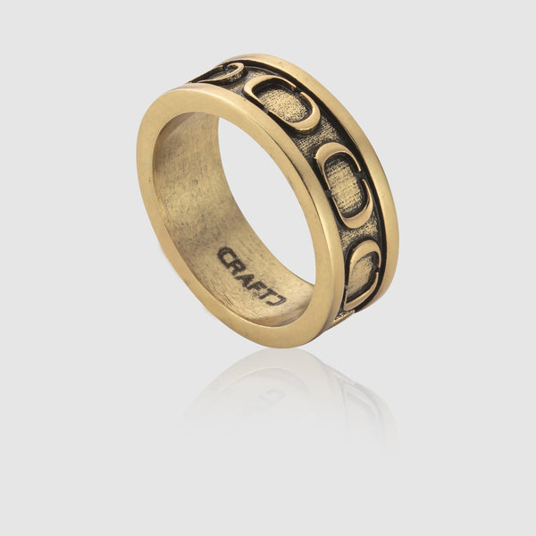 CRAFTD Band Ring (Gold)