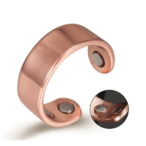 Plain Nature Pure Copper Magnetic Ring