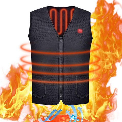 Battery Heated Vest for Men and Women- Battery Heated Clothing- USB Rechargeable Heated Vest