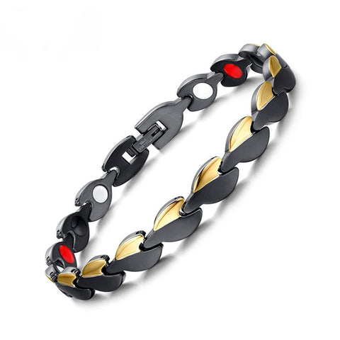 Fashionable Magnetic and Germanium Therapy Bracelet for Women (SBRM031)