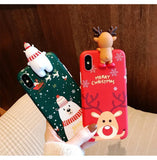 Christmas Theme Soft TPU Phone Cases