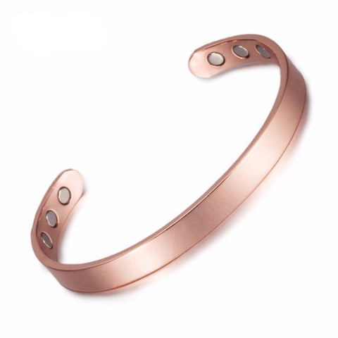 Pure Copper Magnetic Bangle Modest Design