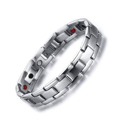 Stylish Bio-Energy Magnetic Therapy Bracelet G4 Series For Men (BR160N)