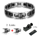 Stylish Bio-Energy Magnetic Therapy Bracelet G3 Series For Men (SBRM819E)