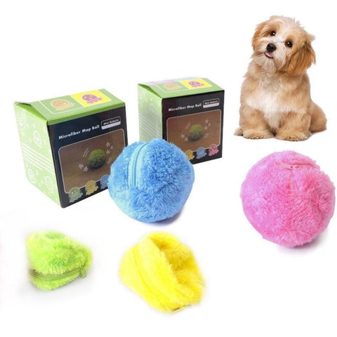 Automatic Rolling Ball For Dogs Interactive Dog Toys