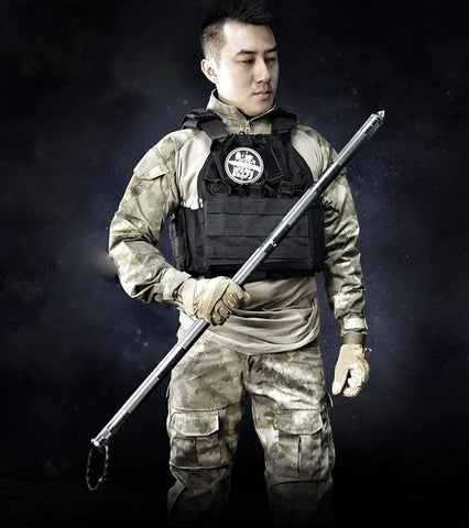 Tactical Survivor Hiking and Trekking Pole Stick