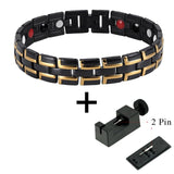 Stylish Bio-Energy Magnetic Therapy Bracelet G4 Series For Men (SBRM014)