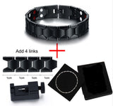 Stylish Bio-Energy Magnetic Therapy Bracelet for Men (SBRM088B)