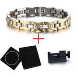 Stylish Bio-Energy Magnetic Therapy Bracelet G4 Series For Men & Women (SBRM098)