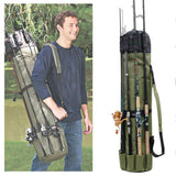 Fishing Tackle Rod Holder Backpack