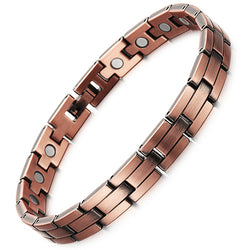 Fashionable Bio-Energy Pure Copper Magnetic Therapy Bracelets For Women (SBRM055)