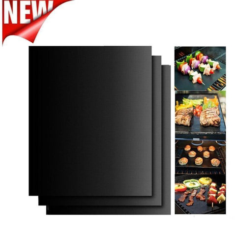 3PCS Non-Stick BBQ Magic Grill Mat