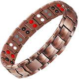 Stylish Pure Copper Bio-Energy Magnetic Therapy Bracelet For Men (SBRM087C)