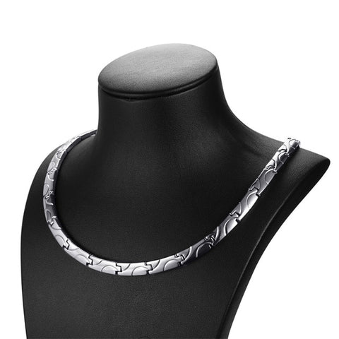 Antique Titanium Magnetic Therapy Necklace (3 Colors)