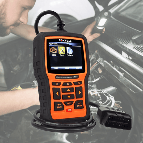 OBD2 Reader Automotive Scanner - Vehicle Diagnostic Tool