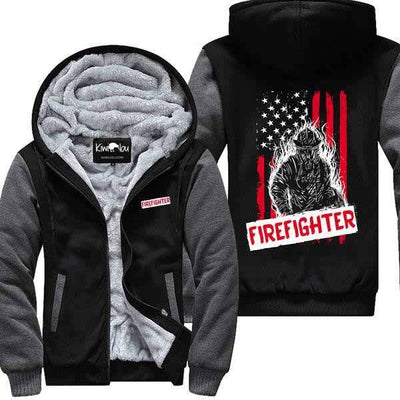 Firefighter - Flag Jacket